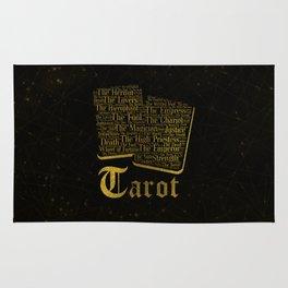 Tarot Major Arcana Word Art Rug