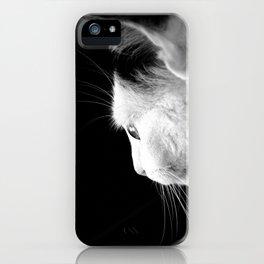Black & White Cat iPhone Case