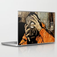 borderlands Laptop & iPad Skins featuring Leroy And The Five Dancing Skulls Of Doom by Matthew Dunn