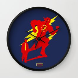 THE FLASH BARRY ALLEN ALTER EGO Wall Clock