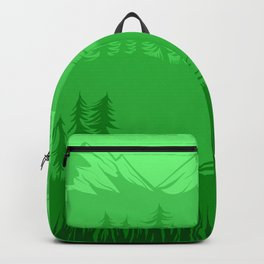 Shades of Nature - Green Backpack