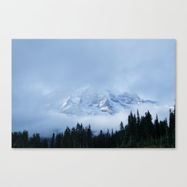 the mighty mount rainier Canvas Print
