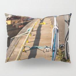 Bike on Harbor 4 Pillow Sham
