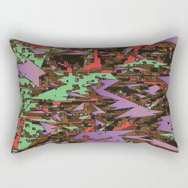 camo sharpening Rectangular Pillow