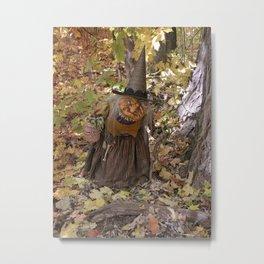 Rucus Studio Hag of the Woods Metal Print