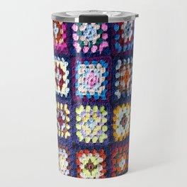 Vintage Granny Quilt Travel Mug