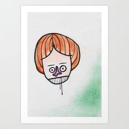 Hmpf! Art Print