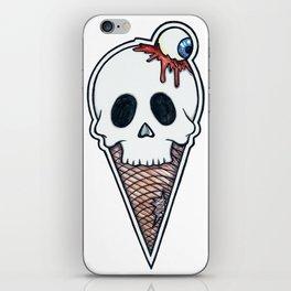 """SkullScream Cone"" iPhone Skin"