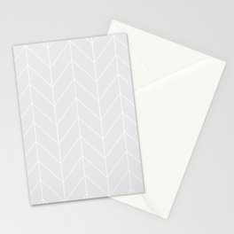 Gray arrows Stationery Cards