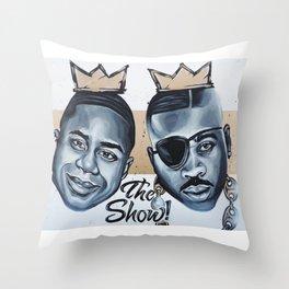 Kings of New York Throw Pillow