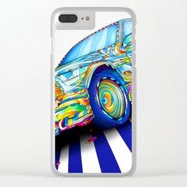 Diversity Colors Car Clear iPhone Case