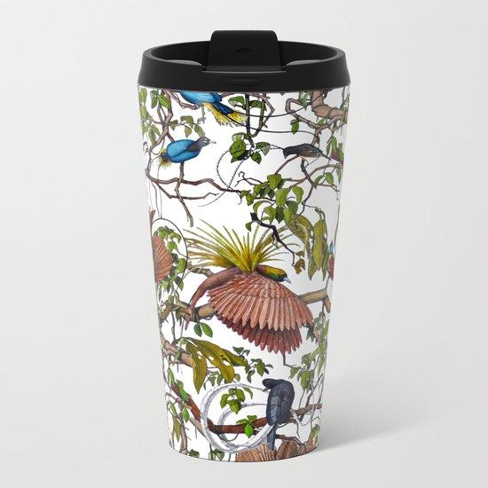 Garden pattern Metal Travel Mug