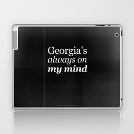 Georgia's always on my mind Laptop & iPad Skin