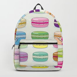 Colorful macaroon set Backpack