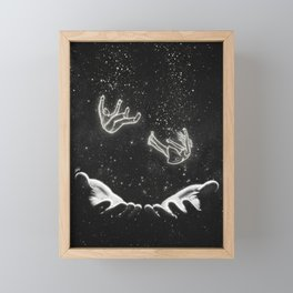 In a trusted hand. Framed Mini Art Print