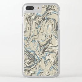 Mixed up Clear iPhone Case