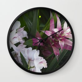 Longwood Gardens Orchid Extravaganza 9 Wall Clock