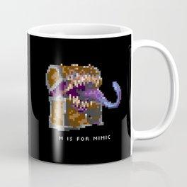 M is for Mimic Coffee Mug