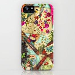 A Vintage Garden iPhone Case