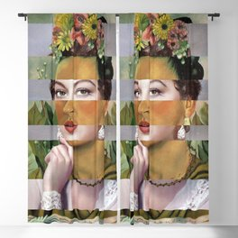 Frida's Self Portrait with Hand Earrings & Ava Gardner Blackout Curtain