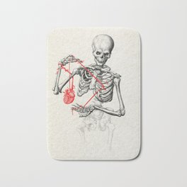 I need a heart to feel complete Bath Mat