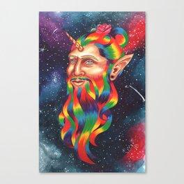 Manicorn Canvas Print