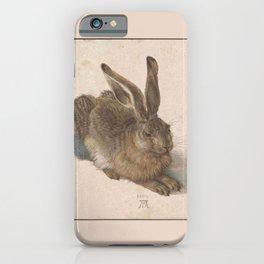Albrecht Durer - The hare iPhone Case