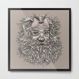 Weird Beard Metal Print