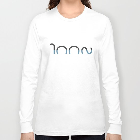 Loch Ness Typo Long Sleeve T-shirt