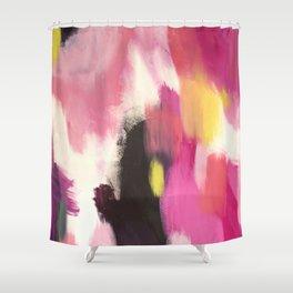 Acrylic Abstract Shower Curtain