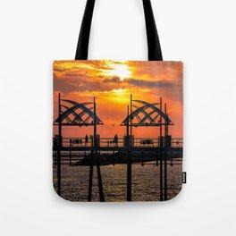 California Dreaming - Redondo Beach Pier Tote Bag