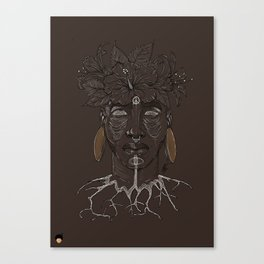 ROOTED. Canvas Print