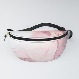 Blush and Blue Dream 1: Original painting Fanny Pack
