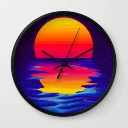 Ocean Dreams Wall Clock