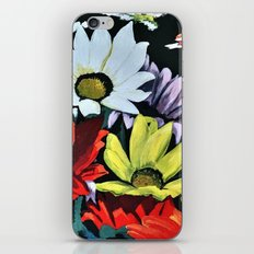 Watercolor Daisy Flowers iPhone & iPod Skin
