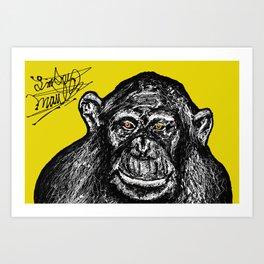 Monkey Business Art Print