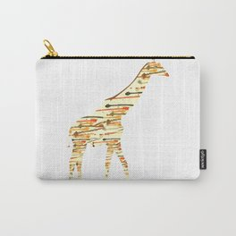 Watercolour Giraffe Carry-All Pouch