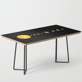 The Solar System Coffee Table