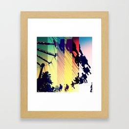 spin Framed Art Print