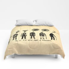 The Seven Ages of Mandelion Comforters