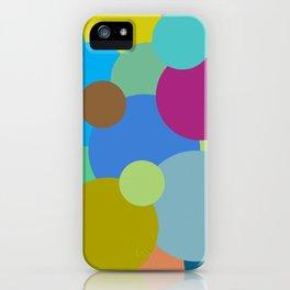 Circles of life iPhone Case