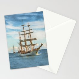 Sailing Grace Stationery Cards