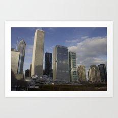 Urban Sky Art Print