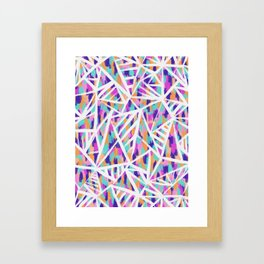 Justine Abstract Framed Art Print