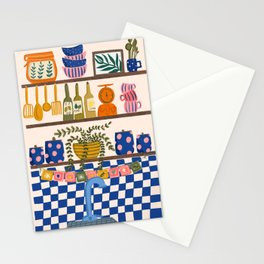 Kitchen Shelf Stationery Cards