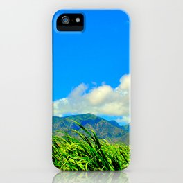 Maui Cane Feilds iPhone Case