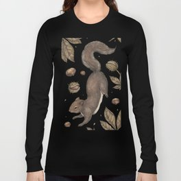 The Squirrel and Chestnuts Langarmshirt