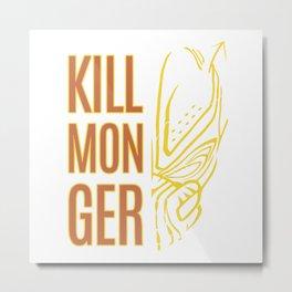 killmonger Metal Print