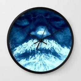 Sure Feels Like The Blues Wall Clock