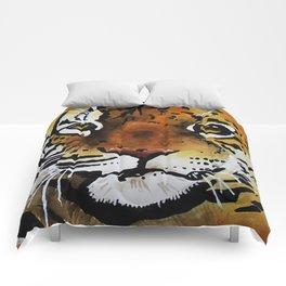 tiger/cheetah Comforters